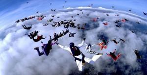Харьковские парашютисты установили мировой рекорд в США