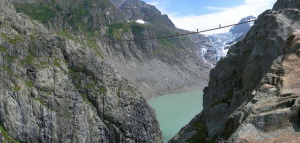 Мост Трифт, Швейцария