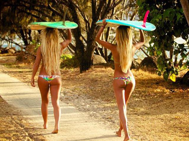 фото пляжных девушек