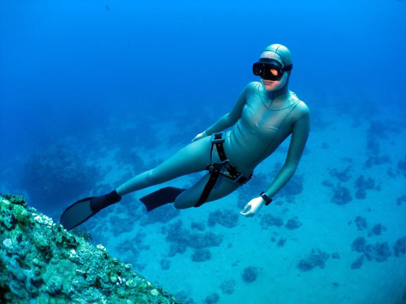 underwater breathing machine