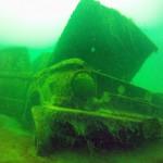 Львовские дайверы обнаружили мотоцикл времен Второй мировой войны (8)