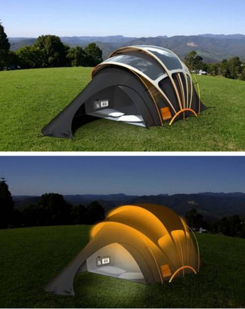 палатка аккумулятор