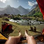 виды и формы палаток