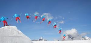 Как научиться прыгать со снежных трамплинов