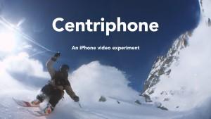 Сеть взорвало видео с лыжником, снятое необычным способом на IPhone