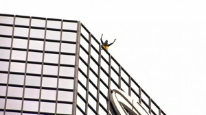 'French Spiderman' performs another hair-raising feat