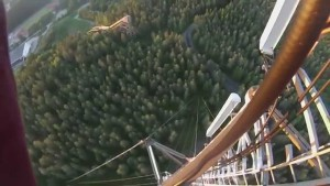 World's Tallest TV Tower Climb without Safety Equipment 475m
