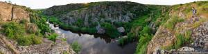 Место для рафтинга и скалолазания в Украине: «Долина Дьявола»