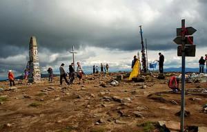 Маршруты восхождения на Говерлу  2