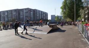 В Днепродзержинске открылся первый скейт-парк