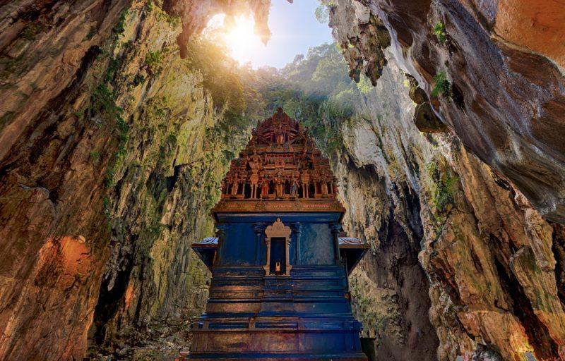 Пещеры в Малайзии «Batu Caves»