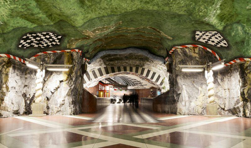 Шведская станция метро «Kungsträdgården metro station»