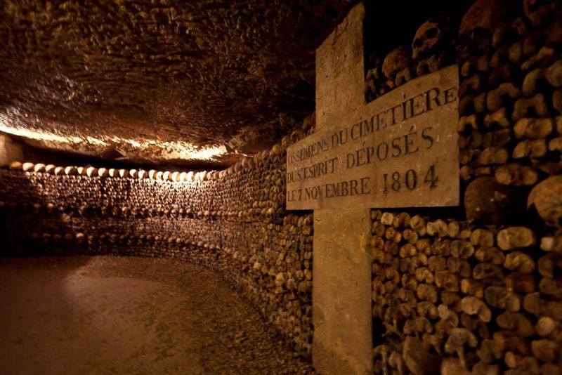 Парижские катакомбы «Catacombes de Paris»