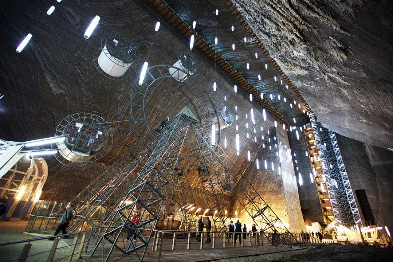 Соляная шахта «Salina Turda Salt Mine»