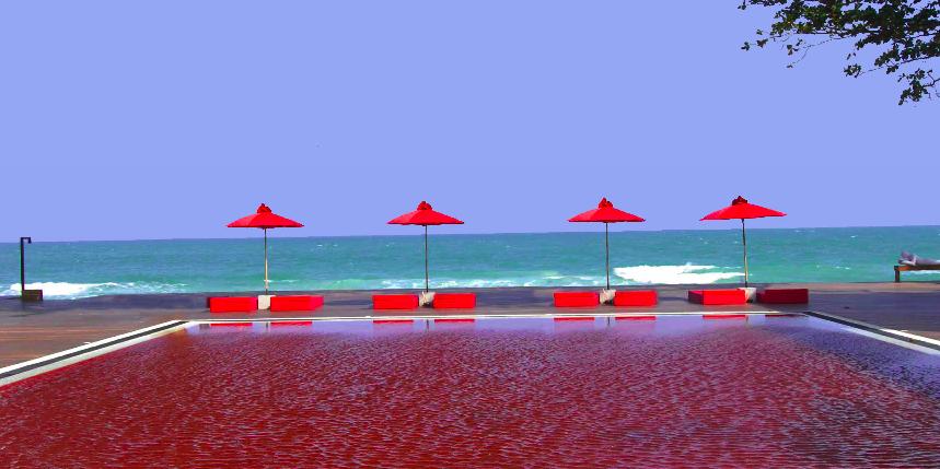 Таиланд. Красный бассейн