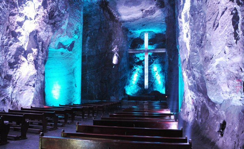 Соляной собор в Колумбии «Salt Cathedral of Zipaquira»