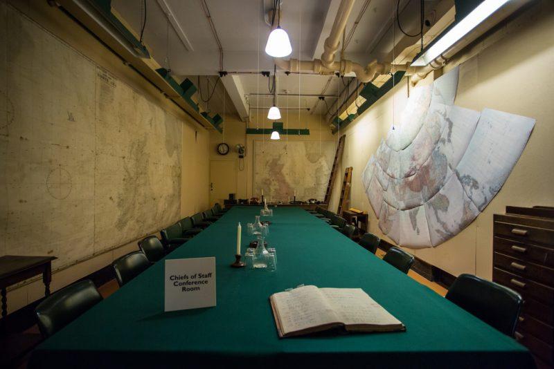 Военный бункер Черчилля «Churchill War Rooms»