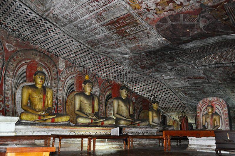 Золотой храм «Dambulla Cave Temple»