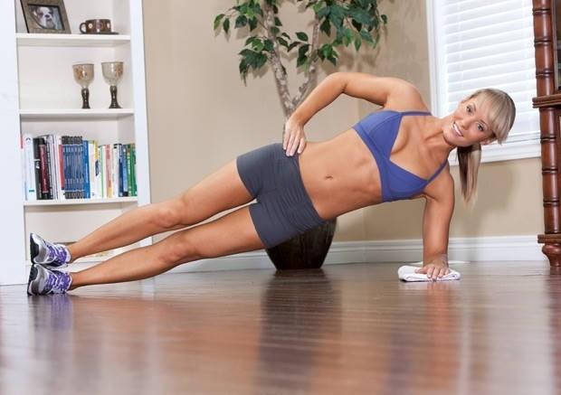 Упражнение «Боковая планка»