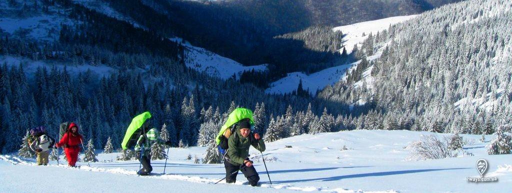 фото 1 поход зимой