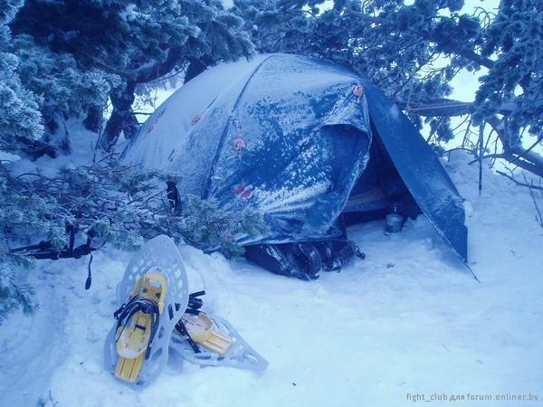 фото 4  поход зимой