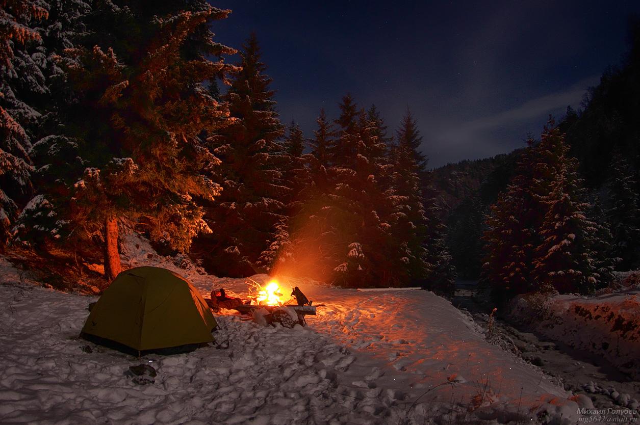фото 5  поход зимой