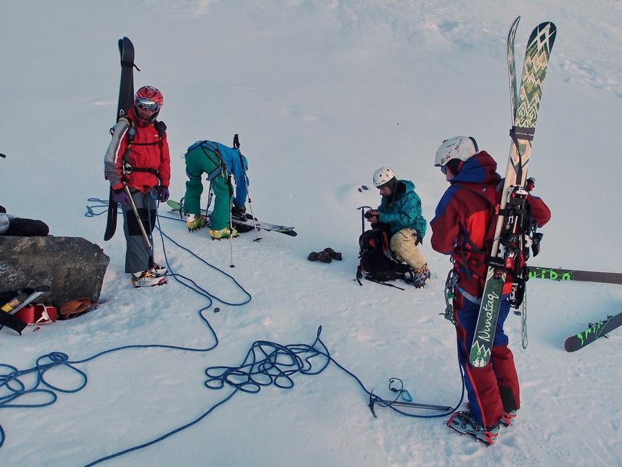 лыжи со стальным канатом