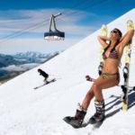как хранить лыжи летом