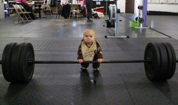 Молодость и силовой спорт