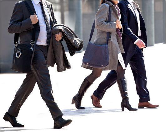 прогулки пешком на работу