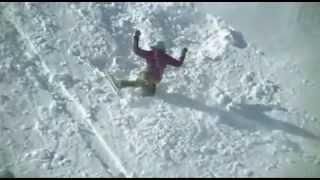 Падения на сноубордах