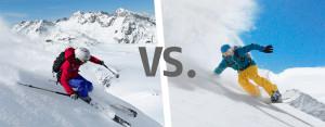 Лыжи или сноуборд. За и против.