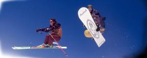 отношения лыжника и сноубордиста