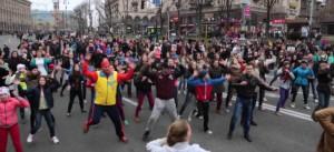 В Киеве стартовала спортивно-развлекательная программа FunUp