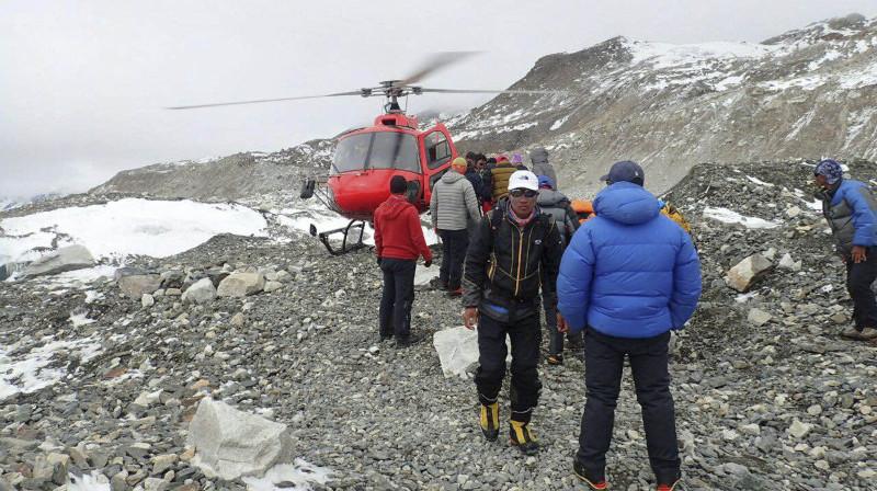 Тела 50 туристов обнаружили в горном районе Непала