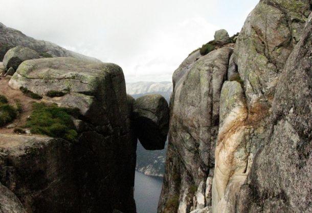 Камень Кьерагболтен, Норвегия