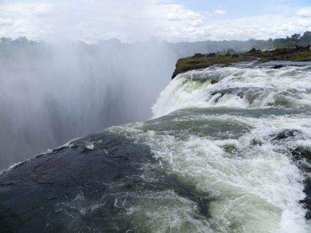 Бассейн дьявола, Замбия