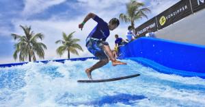 Бассейн для любителей серфинга