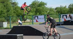 В Николаеве прошли соревнования по экстремальным видам спорта