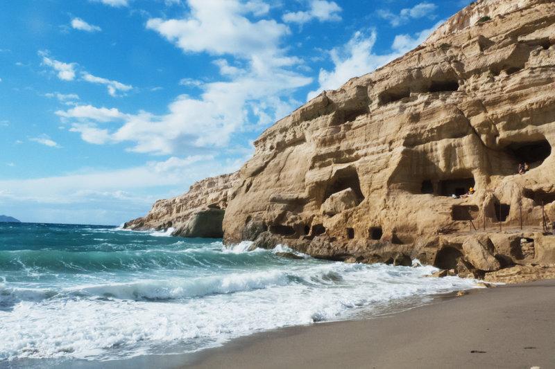 грецькі-печери