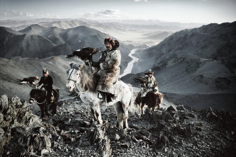 монгольські-казахи-монголія