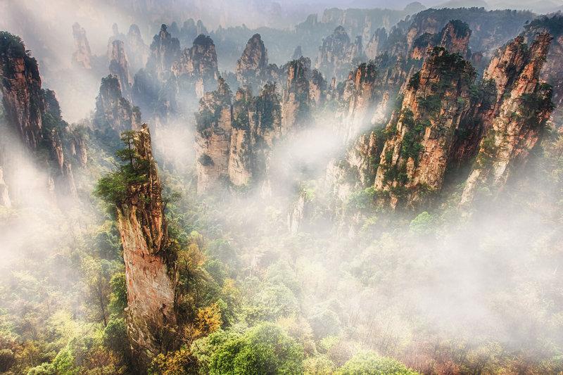 Национальный парк Чжанцзяцзе, Китай