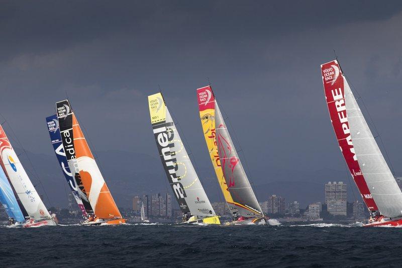 October 1, 2014.  Practice Race Alicante.