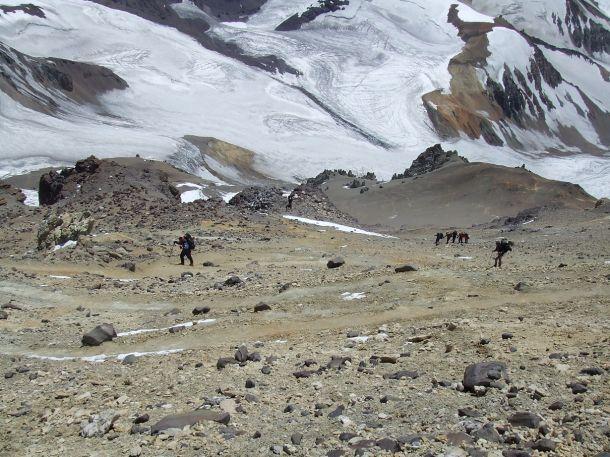 Аргентина. Гора Аконкагуа