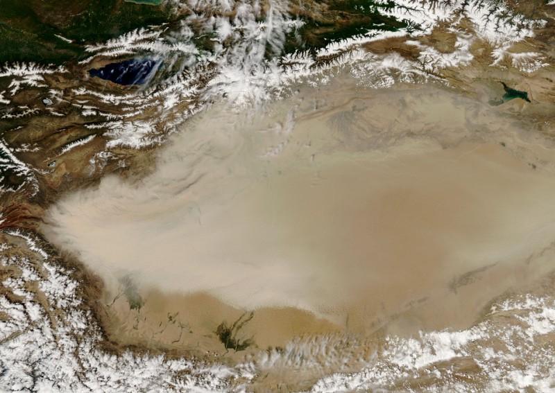 Огромный океан найден под пустыней в Китае (4)