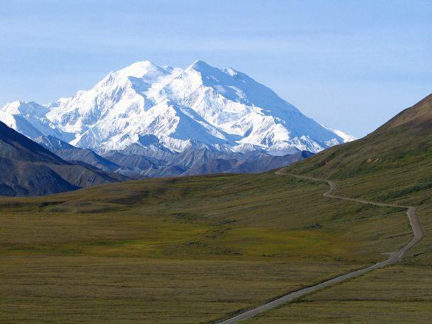 США. Аляска. Гора Мак-Кинли