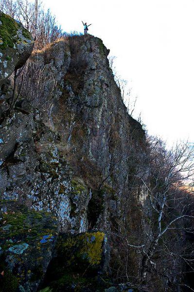 Скальные массивы Закарпатья