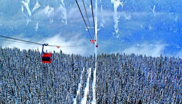3. Подъемник Peak 2 Peak в Канаде
