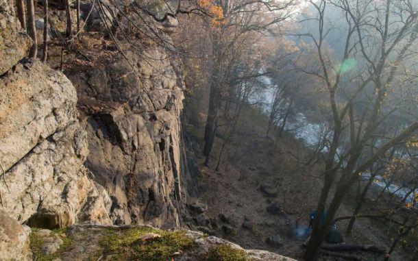Скалы над Тетеровом в Денишах