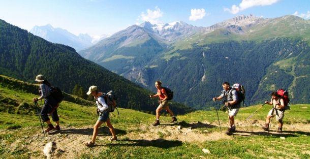 Альпийская тропа Haute-Route (Франция-Швейцария)